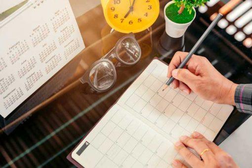 Como montar um cronograma de estudo